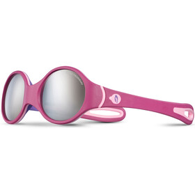 Julbo Loop Spectron 4 Sunglasses Baby 2-4Y Fuchsia/Purple/Pink-Gray Flash Silver